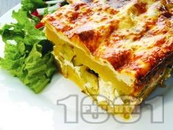 Картофи огретен на фурна (със сирене и кашкавал) - снимка на рецептата